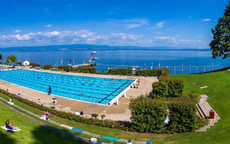 Le centre nautique d'Evian-les-Bains