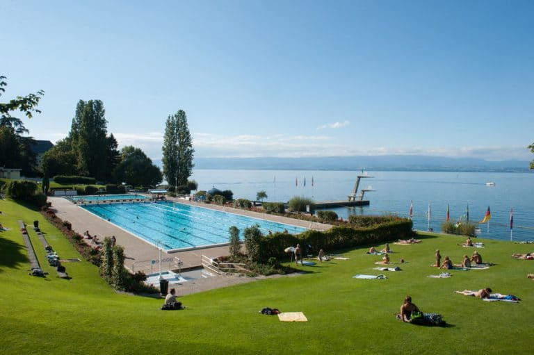 Le centre nautique Evian