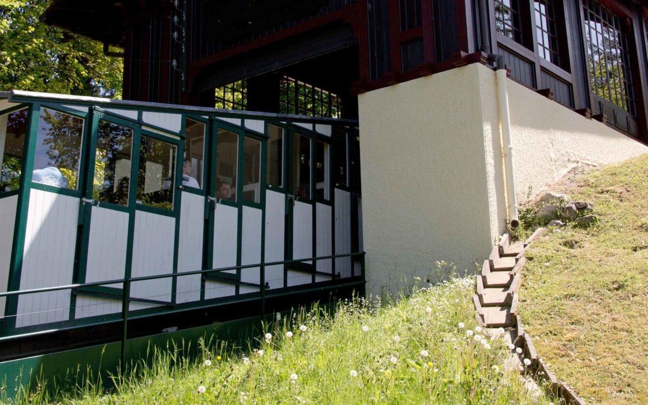 Le funiculaire d'Evian-les-Bains
