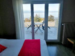 Hôtel Evian Express - Chambre triple vue lac