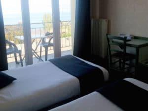 Hôtel Evian Express - Chambre double twin vue lac