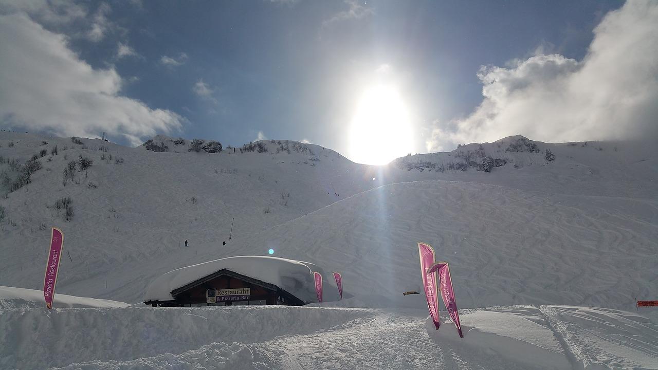 La station de sports d'hiver de Chatel