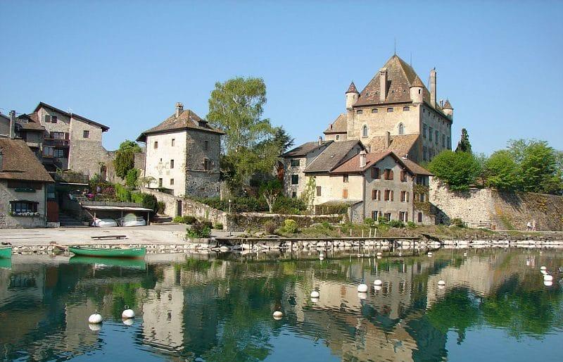 Le village médiéval d'Yvoire