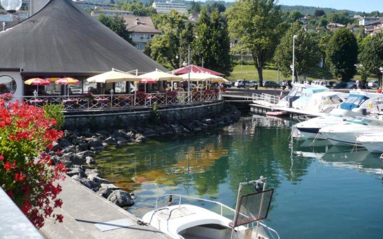 La Voile à Evian-les-Bains