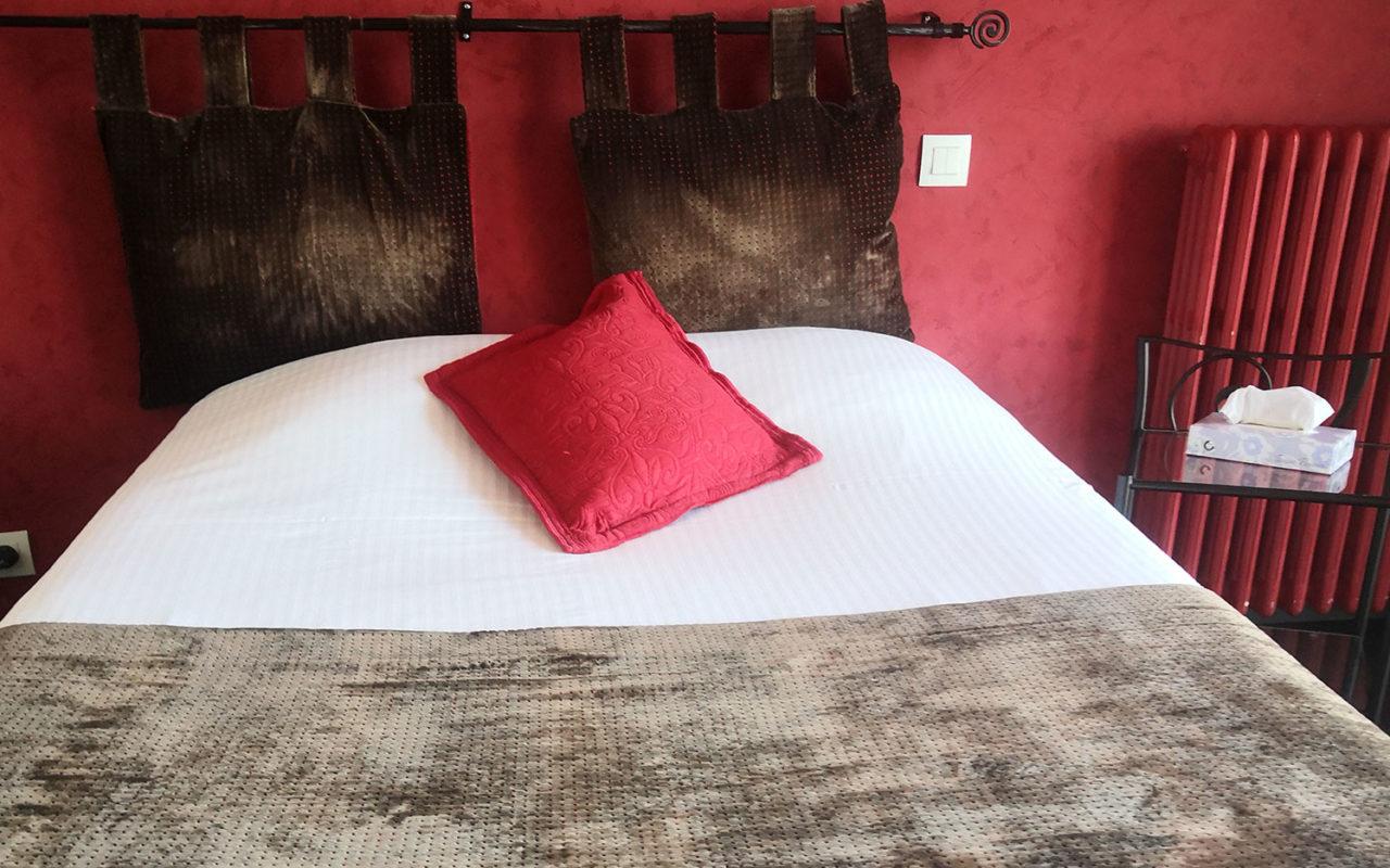 Les chambres de l'Hôtel Evian Express