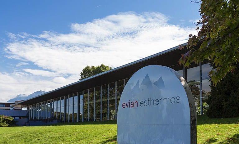 Les thermes d'Evian-les-Bains